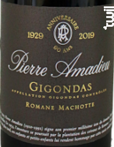 Romane Machotte - Gigondas - Domaine Amadieu - 2017 - Rouge