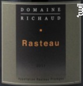 Rasteau - Domaine Richaud - 2016 - Rouge