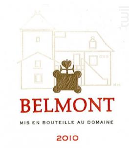 Domaine Belmont - Domaine Belmont - 2010 - Rouge