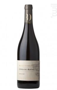 Côtes-du-Rhône Rouge - Romain Duvernay - 2012 - Rouge