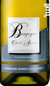 Bourgogne Côtes d'Auxerre - Domaine Sorin Coquard - 2018 - Blanc