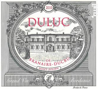 Duluc de Branaire-Ducru - Château Branaire-Ducru - 2010 - Rouge