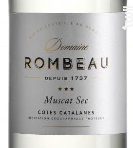 Muscat Sec - Château de Rombeau - 2019 - Blanc