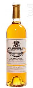 Cuvée Madame - Château Coutet - Barsac - 2009 - Blanc