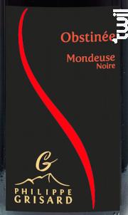 Obstinée - Maison Philippe Grisard - 2018 - Rouge