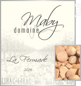 La Fermade - Domaine Maby - 2016 - Rouge