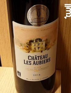 Château Les Aubiers - Château les Aubiers - 2016 - Rouge