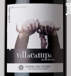 Villa Campa Roble - Cepas y Bodegas - 2016 - Rouge