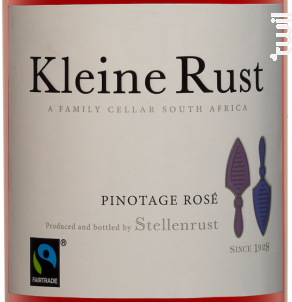 Kleine rust – Cellar Selection Pinotage rosé - Stellenrust - 2017 - Rosé