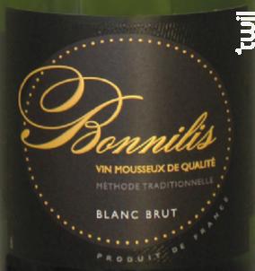 Bonnilis Blanc - Cave de Bonnieux - Non millésimé - Effervescent