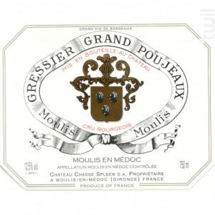 Château Gressier Grand Poujeaux - Château Gressier Grand Poujeaux - 1994 - Rouge