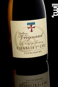 CHABLIS 1ER CRU COTES DE FONTENAY - Domaine Guillaume Vrignaud - 2014 - Blanc