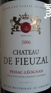 Château de Fieuzal - Château de Fieuzal - 2005 - Rouge