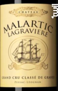 Château Malartic-Lagravière - Château Malartic-Lagravière - 2017 - Rouge