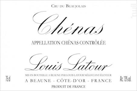 CHENAS - Maison Louis Latour - 2015 - Rouge