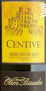 Centive Moscato d'Asti - OLIM BAUDA - 2019 - Effervescent