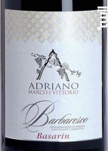BASARIN - MARCO E VITTORIO ADRIANO - 2011 - Rouge