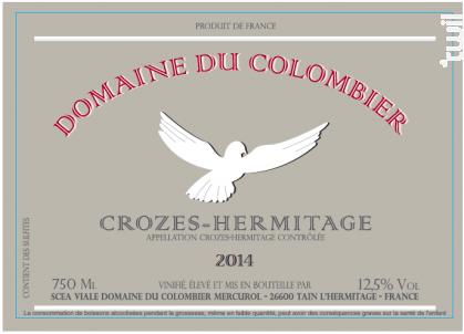 Crozes-Hermitage - Domaine du Colombier - 2019 - Blanc