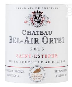 Château Bel-Air Ortet - Château Bel-Air Ortet - 2013 - Rouge