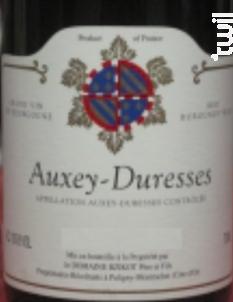 Auxey-Duresses - Domaine Bzikot - 2012 - Rouge