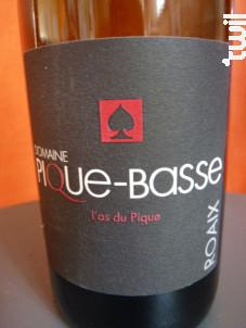 L'AS DU PIQUE - DOMAINE PIQUE-BASSE - 2014 - Rouge