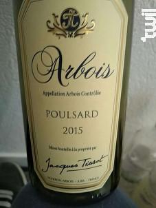 Arbois Poulsard - Domaine Jacques Tissot - 2013 - Rouge