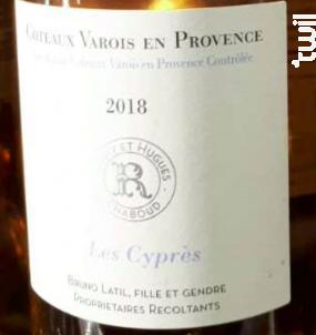 Les Cyprès - Domaine de Ramatuelle - 2018 - Rosé