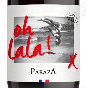 Oh La La ! - Château de Paraza - 2018 - Rouge