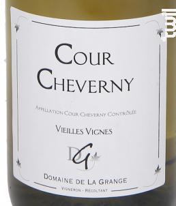 Cour Cheverny Vieilles Vignes - Domaine de La Grange - 2014 - Blanc