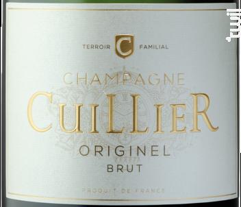 Originel Brut - Champagne Cuillier - Non millésimé - Effervescent