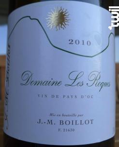 Les Roques - Domaine Jean-Marc Boillot - 2010 - Blanc