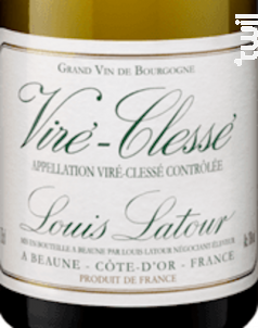 Viré-Clessé - Maison Louis Latour - 2016 - Blanc