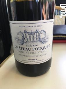 Château Fouquet - Domaine Filliatreau - 2017 - Rouge