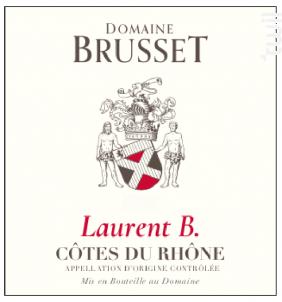 Laurent B. - Domaine Brusset - 2020 - Rouge