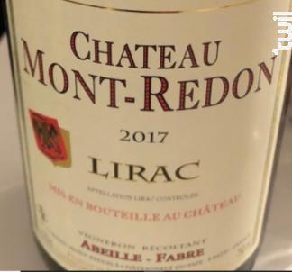 Lirac - Chateau Mont-Redon - 2018 - Rouge