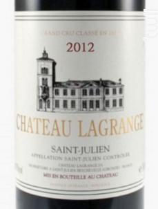 Château Lagrange - Château Lagrange - 2012 - Rouge