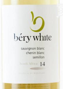 Mooiplaas Bery White - Wines Mooiplaas Estate - 2017 - Blanc
