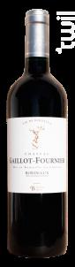 Château Gaillot-Fournier Bordeaux Rouge - Château Gaillot-Fournier - 2018 - Rouge