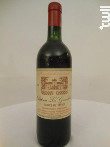 Château La Gravelière - Château la gravelière - 1986 - Rouge