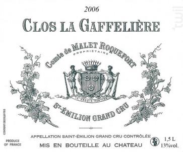 Clos La Gaffelière - Château La Gaffelière - 2017 - Rouge