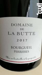 Bourgueil Perrières - Domaine de la Butte - 2016 - Rouge