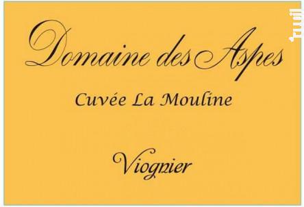 Viognier – Cuvée La Mouline – Domaine des Aspes - Château du Prieuré des Mourgues - 2018 - Blanc