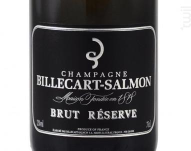 Brut Réserve - Champagne Billecart-Salmon - Non millésimé - Effervescent