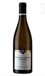 Chassagne Montrachet 1er Cru Tête De Clos - Domaine Ballot-Millot - 2017 - Blanc