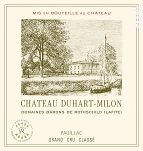 Château Duhart Milon - Domaines Barons de Rothschild - Château Duhart-Milon - 2013 - Rouge