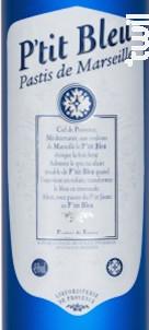 P'tit Bleu 10 cl - Liquoristerie de Provence - Non millésimé - Blanc