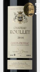 Château Roullet - Vignobles Dorneau - 2016 - Rouge