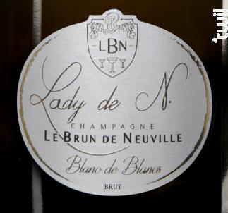 Lady de N. Blanc de Blancs - Champagne le Brun de Neuville - Non millésimé - Effervescent