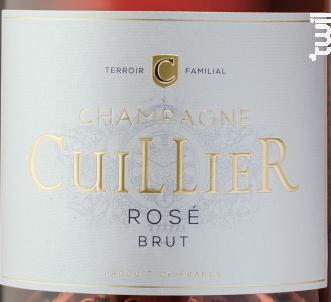 Rosé - Champagne Cuillier - Non millésimé - Effervescent