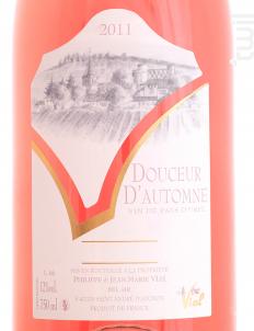 Douceur d'automne - Domaine Vial - 2018 - Rosé